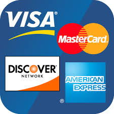 windshield replacement Credit card payment types